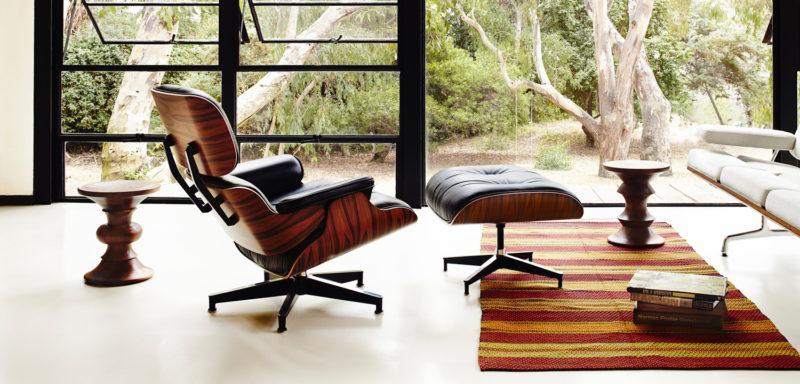 Lounge chair Eames une icône du design