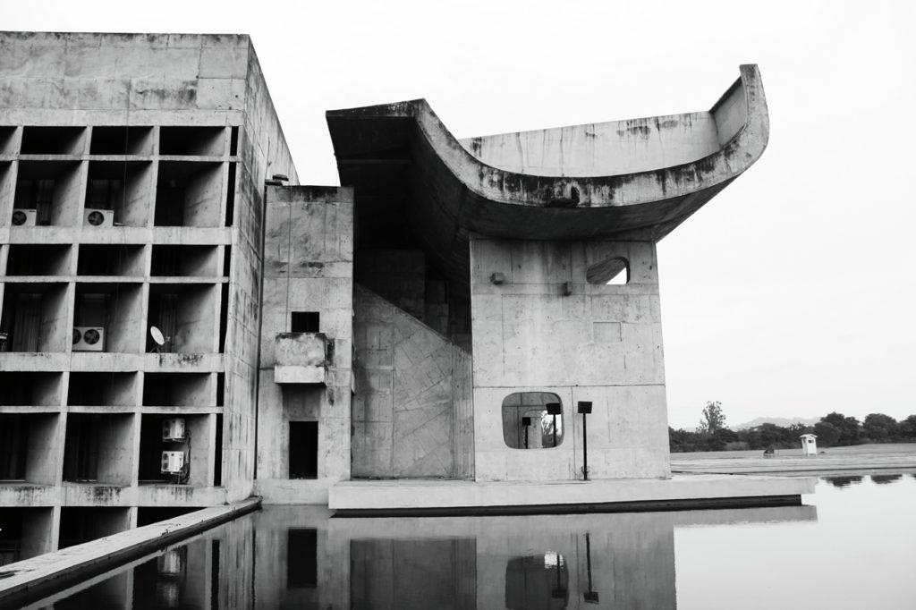 Construction Pierre Jeanneret et Le Corbusier, Chandigarh années 50