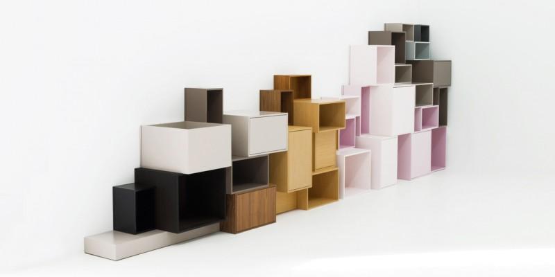 Composition CUBIT avec des éléments de formes différentes