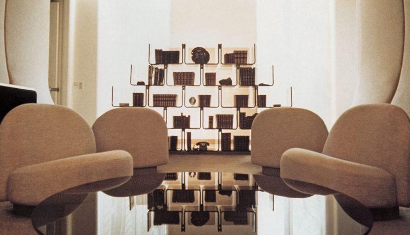 Etagères modulaires Elysée de Pierre Paulin