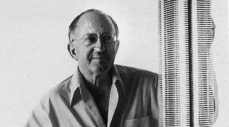 Portrait de Serge Mouille, designer de luminaires du siècle dernier
