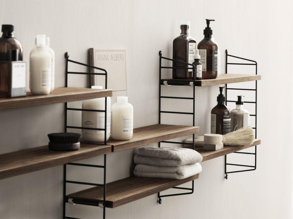 La String Pocket, modèle réduit de la création d'origine, pour toutes les pièces y compris la salle de bain