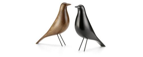 Eames House Bird Vitra Aulne et Noyer