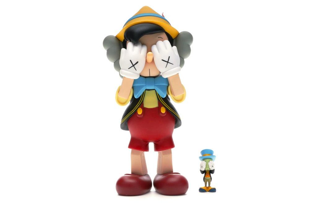 Kaws-Pinocchio-&-Jiminy-Cricket